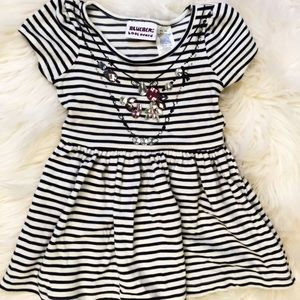 Blueberi Boulevard Baby dress jewels 12 months